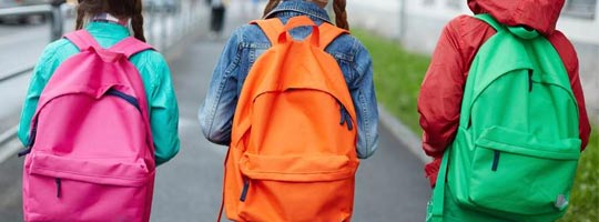 Calgary Chiropractor Offers Back To School Backpack Tips