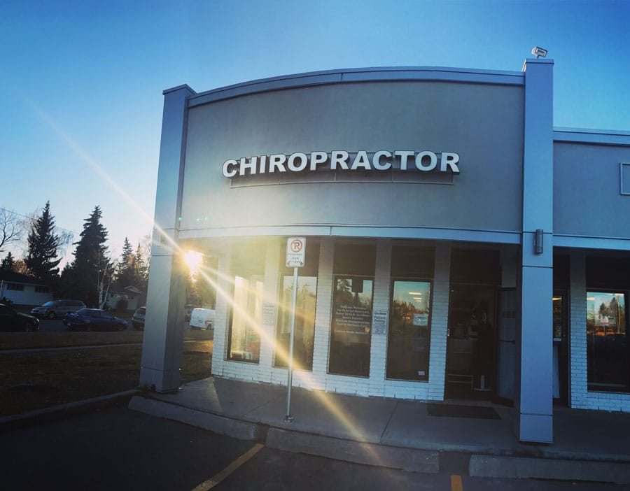 Chiropractic Calgary AB Office Building