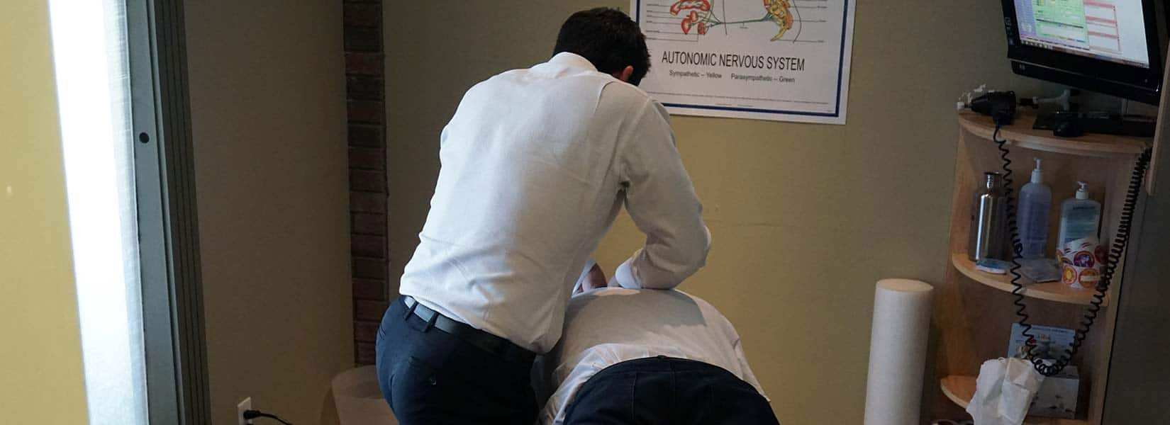Chiropractic Calgary AB adjustment