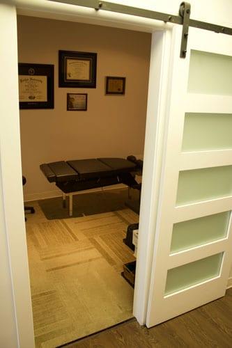 Chiropractic Calgary AB Patient Room
