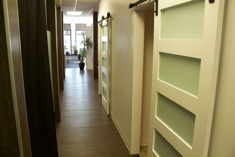 Chiropractic Calgary AB Hallway