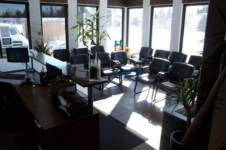 Chiropractic Calgary AB Waiting Room