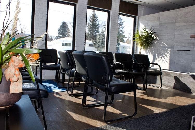 Chiropractic Calgary AB Chairs